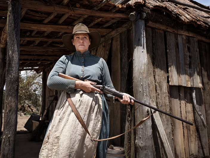 Leah Purcell as Molly Johnson 'The Drover's Wife'
