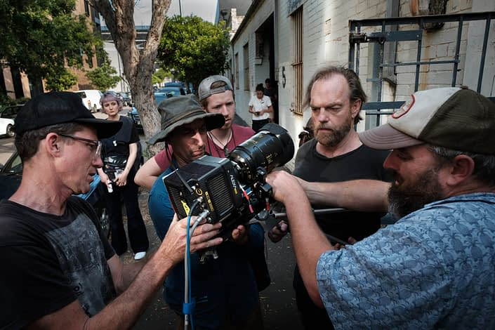 Behind the Scenes | John Platt Production Still Photographer | Hugo Weaving | Hearts and Bones