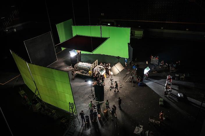 Behind the Scenes Nekrotronic   Green Screen Studio