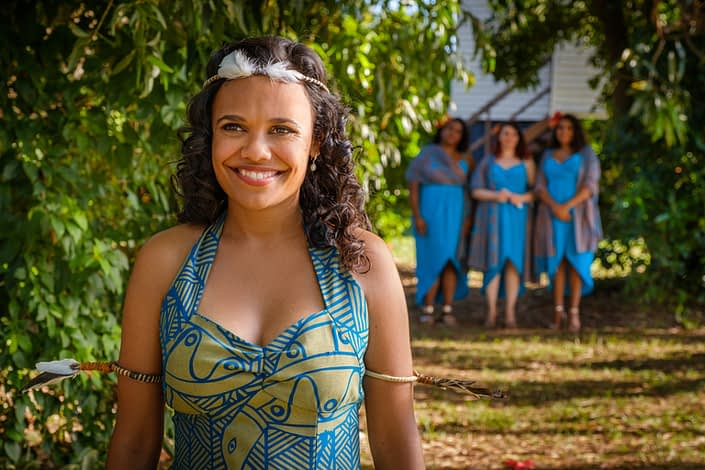 Actor Portrait | Miranda Tapsell | Top End Wedding