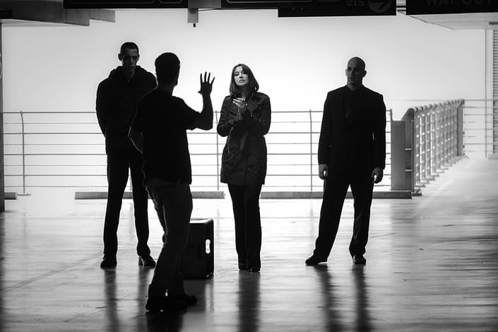 Behind the Scenes | John Platt Production Still Photographer | Monica Bellucci | Nekrotronic