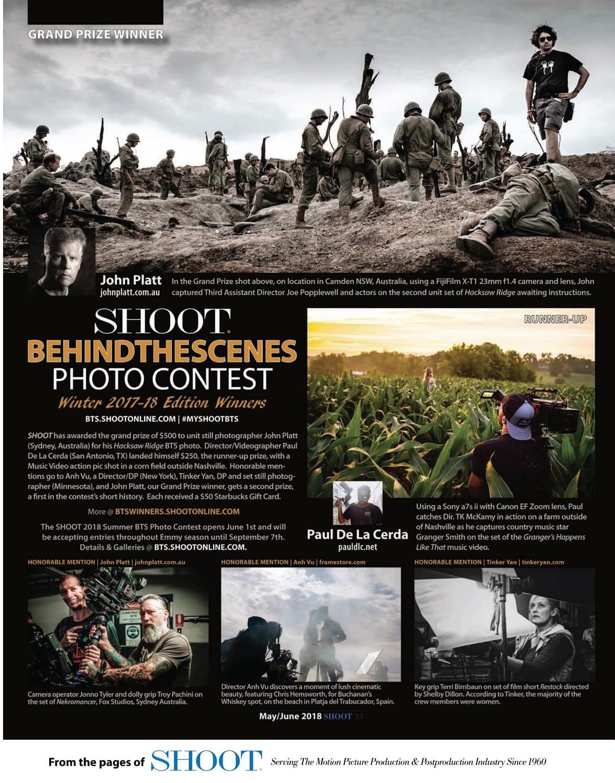 Photo of winning shoot online image by John Platt