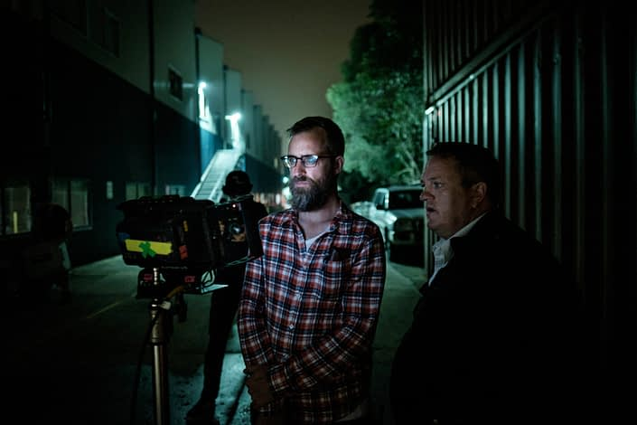 Behind the Scenes | John Platt Production Still Photographer | Ben Lawrence | Jason King | Ghosthunter
