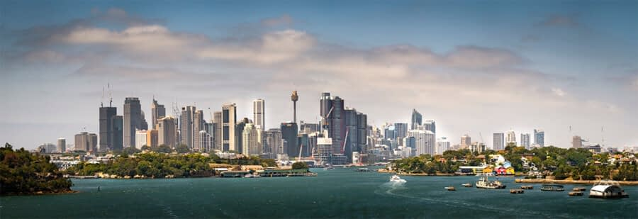 Sydney Harbour from Greenwich Point   1/2500sec f5.6 ISO 250
