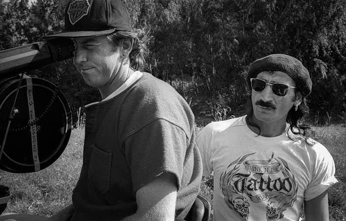 Steve Mason ACS ASC, Cinematographer | George Tsoutas, Key Grip | Waiting