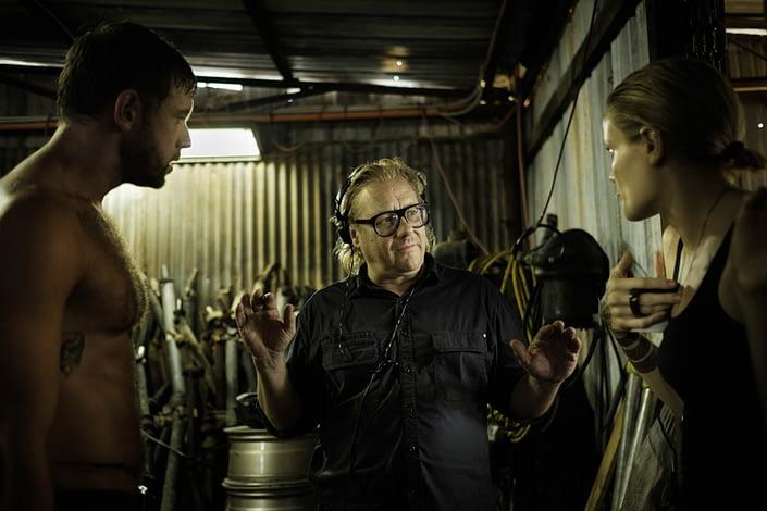 Behind the Scenes   John Platt Production Still Photographer   Kriv Stenders   Wake in Fright