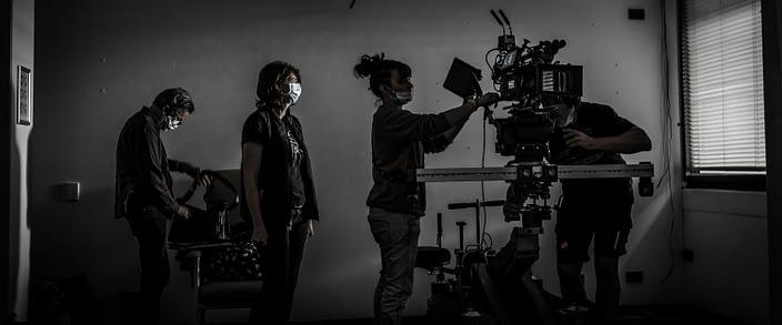 Geoff Bennett, Director | Caroline Constantine ACS, Camera Operator | Anne-Sophie Marion, 1st AC