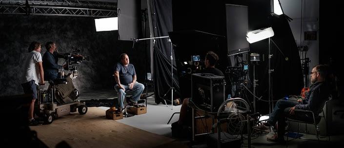 Behind the Scenes   John Platt Production Still Photographer   Jason King   Ben Lawrence   Ghosthunter