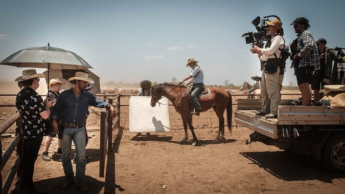 Behind the Scenes | John Platt Production Still Photographer | Aaron Pedersen | Colin Friels | Mystery Road