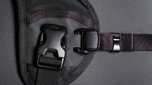 Black Rapid Double Breather Detail