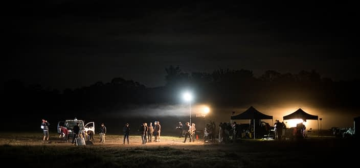 Behind the Scenes | John Platt Production Still Photographer | Night Shoot | Wake in Fright