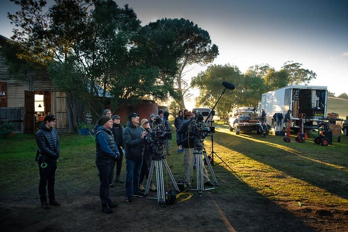 Behind the Scenes | John Platt Production Still Photographer | Morning Exterior | Doctor Doctor