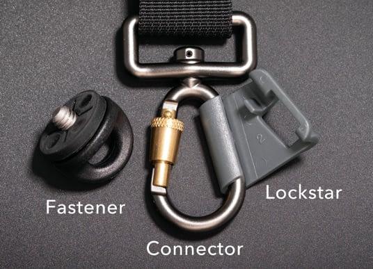 Black Rapid Fastener Connector Lockstar