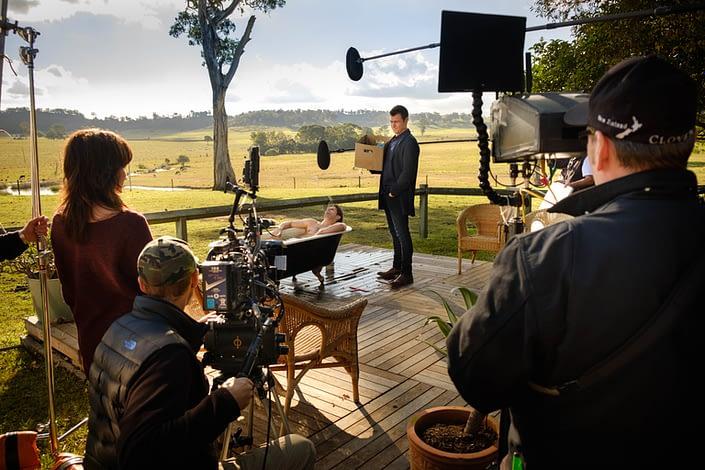 Behind the Scenes | John Platt Production Still Photographer | Roger Corser | Ryan Johnson | Doctor Doctor