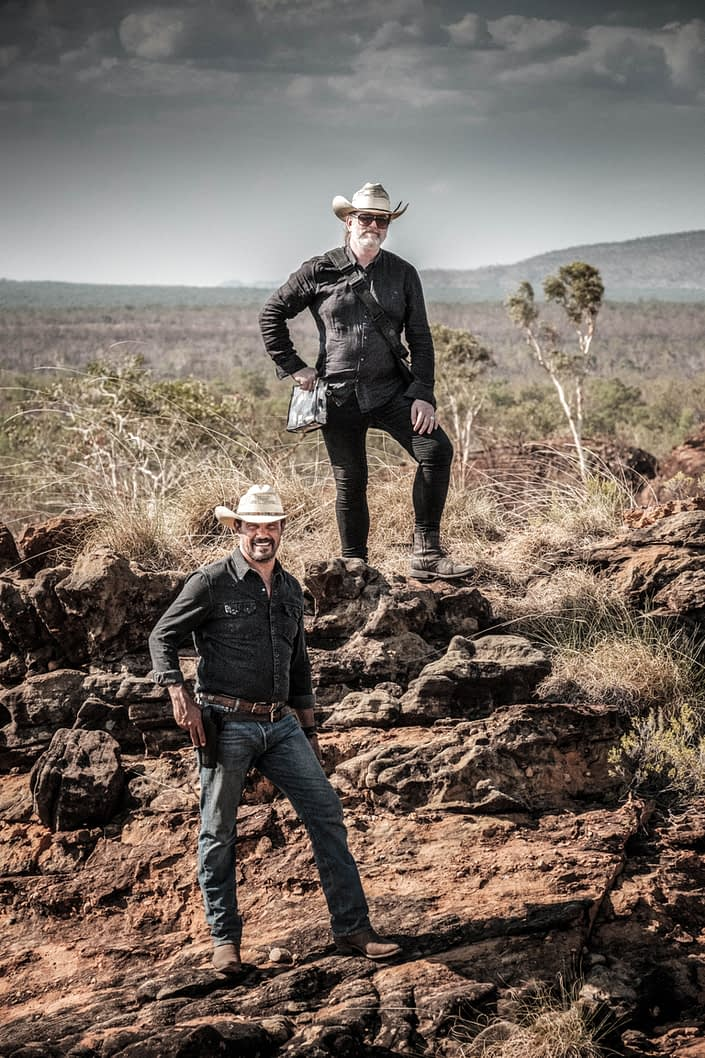 Behind the Scenes Aaron Pedersen | John Logue | Mystery Road